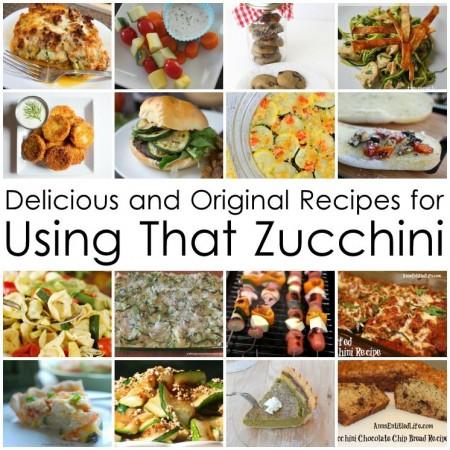 so many good zucchini recipes