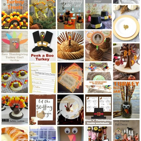 25+ Last Minute Thanksgiving Crafts and Foods