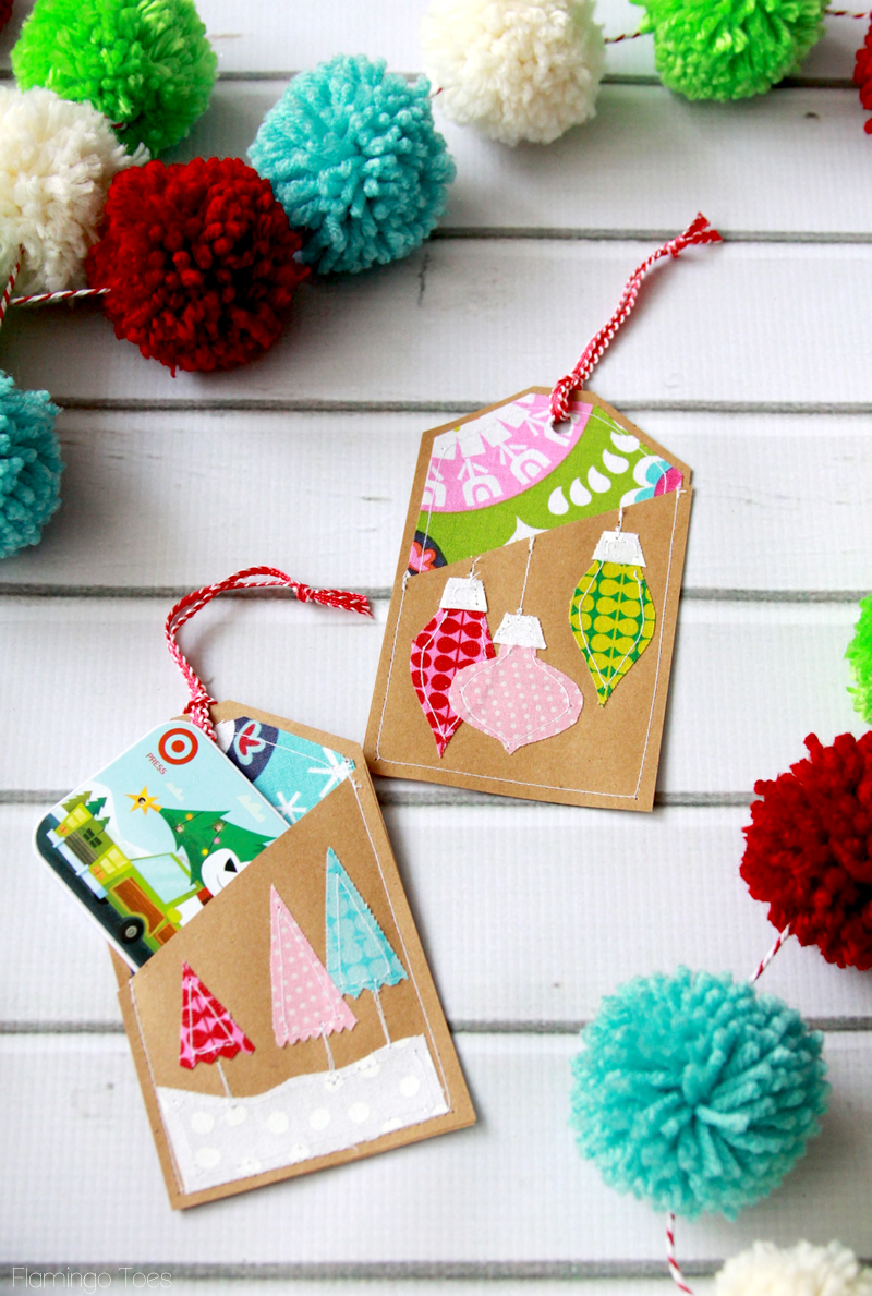 Lots of great DIY gift card holders perfect for last minute CHristmas gifts