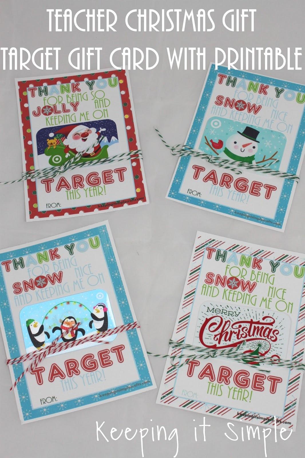 free target gift card printable