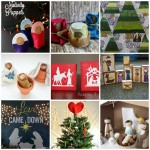 Great Christ centered nativity Christmas crafts and decorations