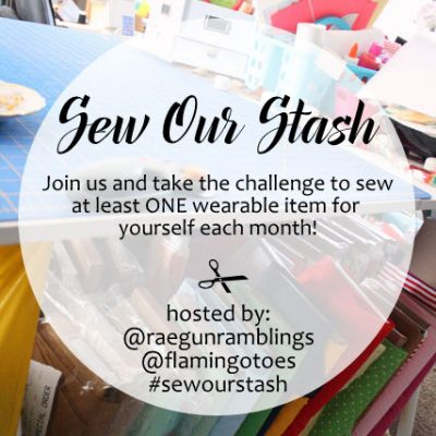 Sew For YOURSELF This Year Sew Our Stash