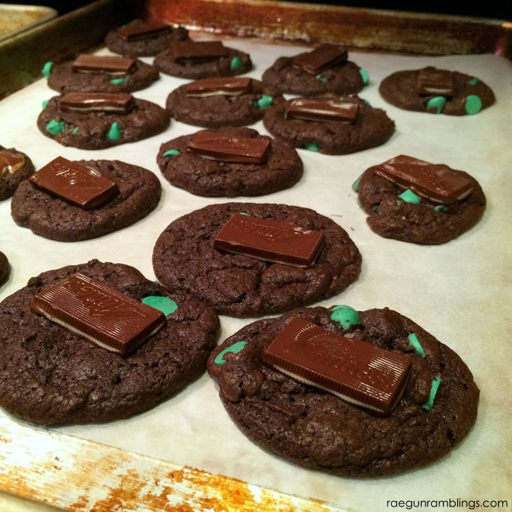Love these! THey are so easy and good. Taste just like thin mints. great chocolate dessert recipe