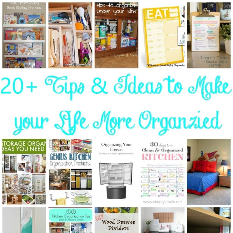 lots of organization ideas collage