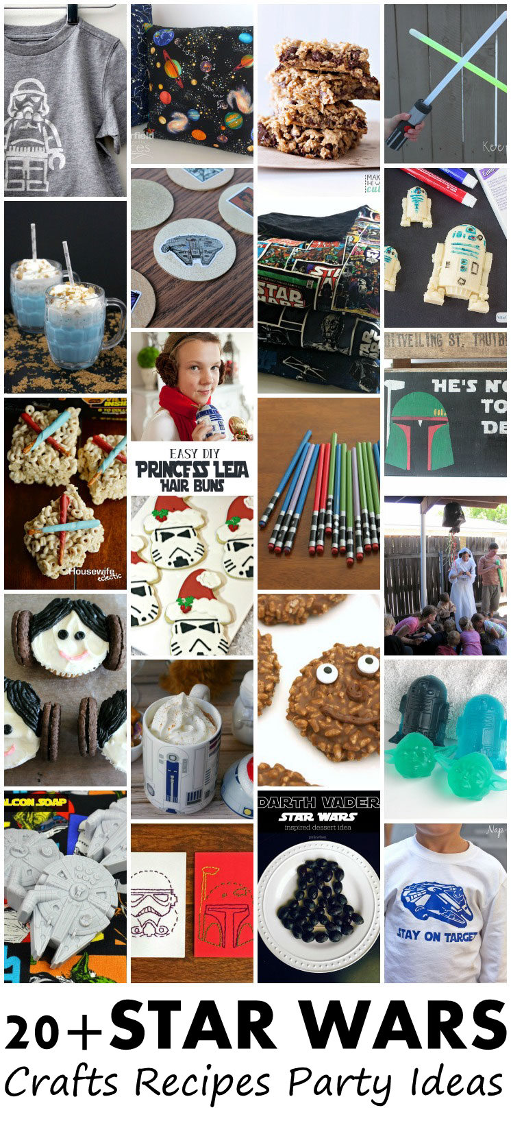 Over 20 awesome Star Wars DIY tutorials, craft projects, recipes and party ideas