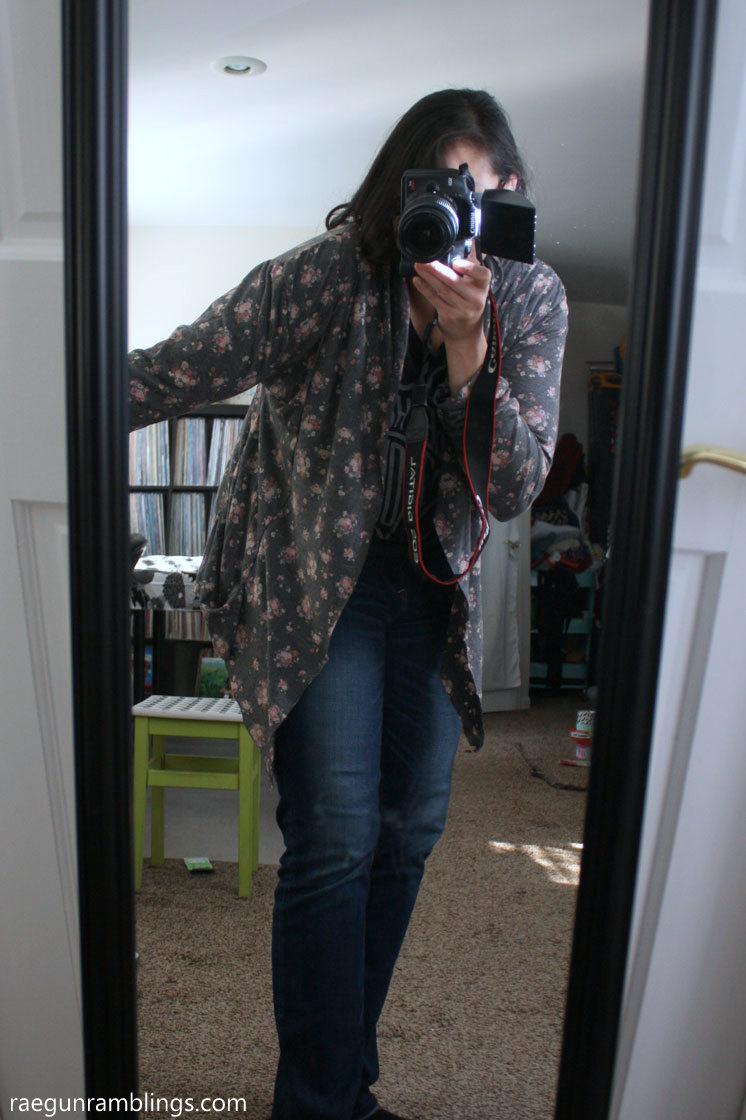 Fast DIY cardigan with pockets