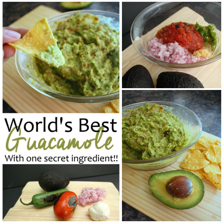 I've tried A LOT of guacamole and this recipe is hands down THE BEST guac I've ever had (including restaurants). I have made it every weekend this month. Would be perfect for cinco de mayo, game day, or anytime you need a tasty and healthy appetizer.