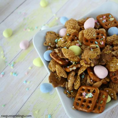 Easter Cadbury Egg Snack Mix Recipe