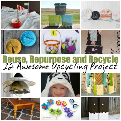 12 Awesome Upcycling Projects and Block Party