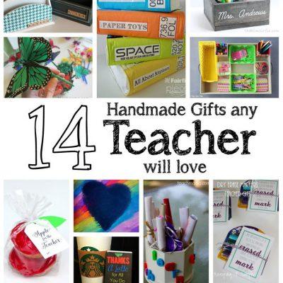 14 DIY Teacher Gifts Any Teachers Will Love