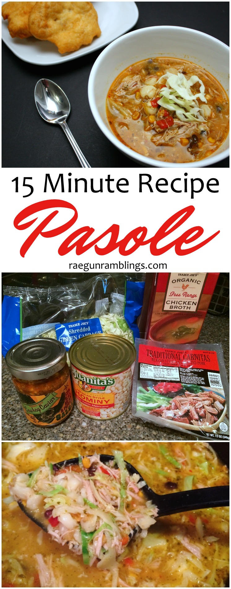 A new family favorite. Love this 15 minute pasole recipe. So good and easy. Perfect weeknight meal.