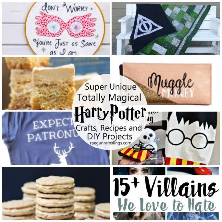 Lots of Craft tutorials, recipes, and DIY projects inspired by Harry Potter
