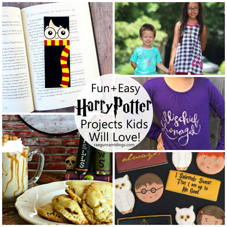 Awesome Harry Potter inspired recipes crafts and more