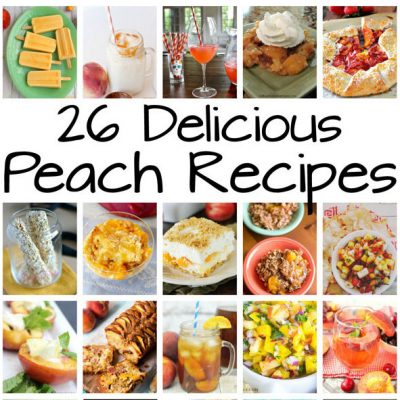 26 Mouthwatering Peach Recipes and Block Party