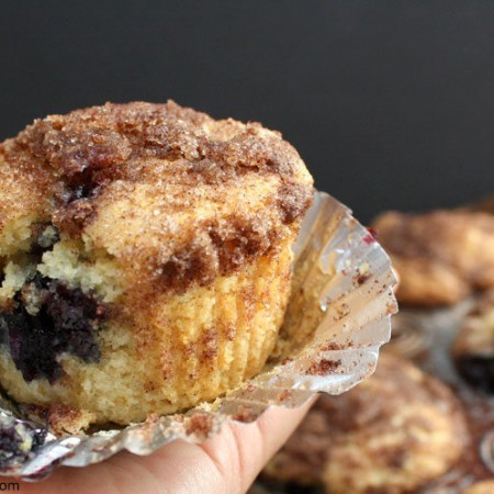 Rich and buttery blueberry muffin recipe. SO good will make again for breakfast or brunch