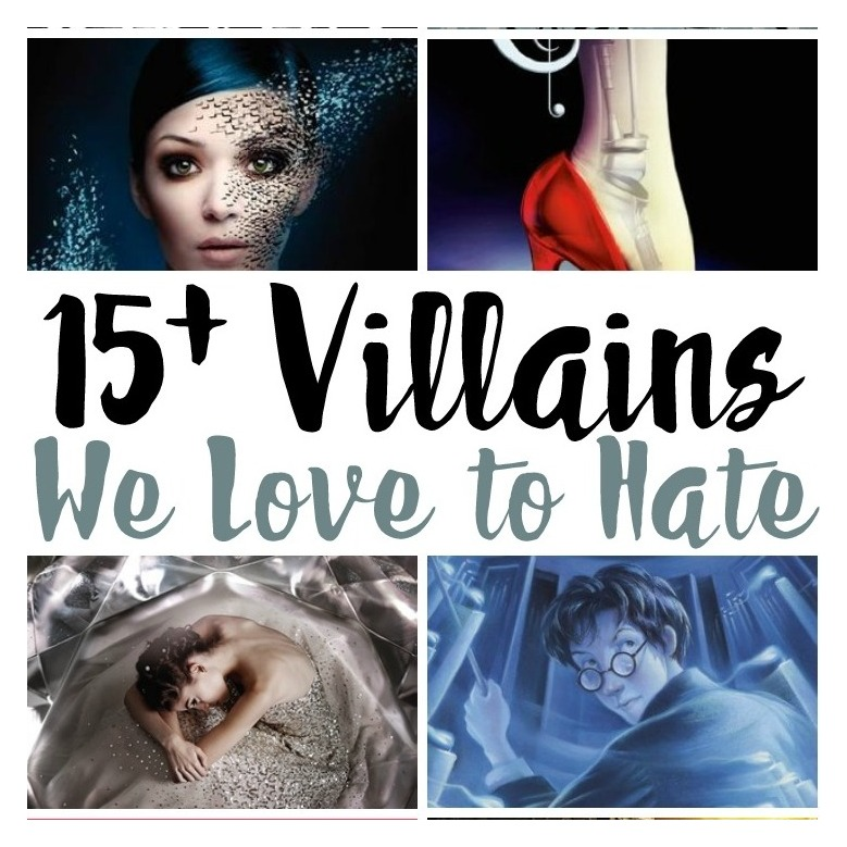 SO many awesome Young Adult lit villains