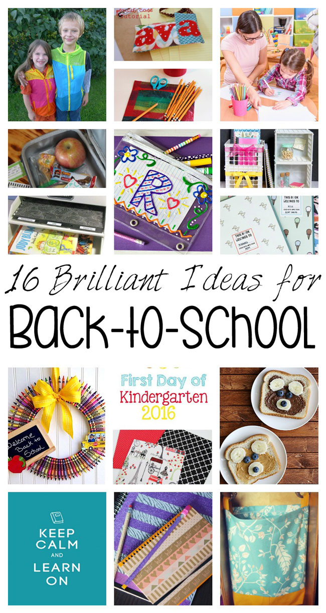 Fabulous ideas for Back-to-school. Crafts, recipes, and kid activities.
