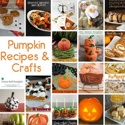 30 Pumpkin Recipes and Crafts and Block Party