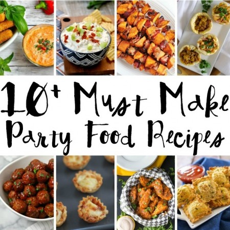 Got a celebration these party recipes are all so good. Meatballs, chips and dips, wings, and more.