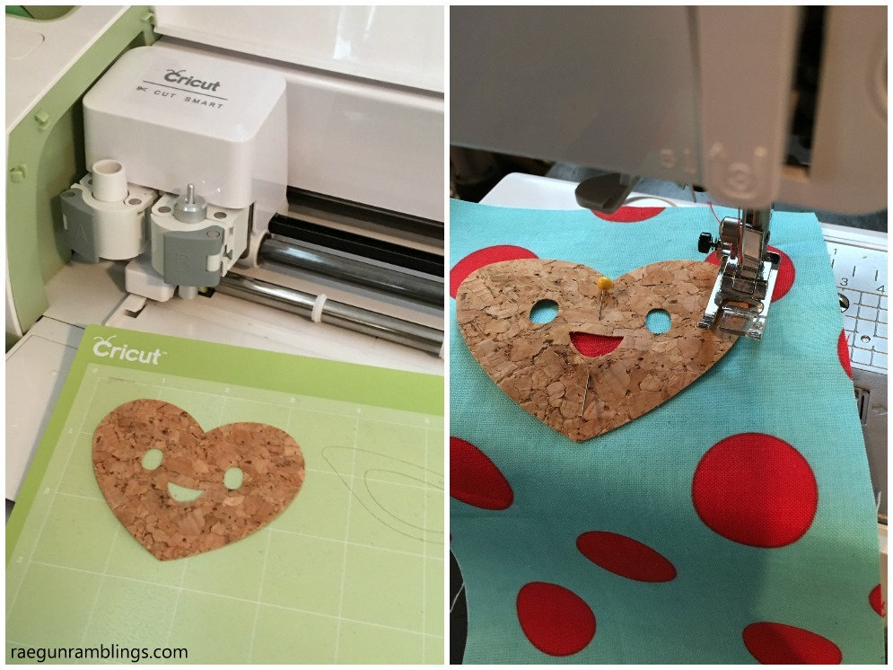 Cork Fabric. This stuff looks super cool and you can cut it with a Cricut machine.