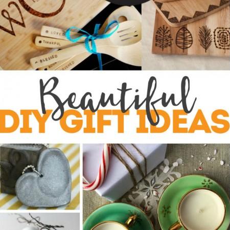 Beautiful DIY Gift Ideas many tutorials