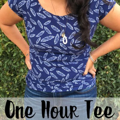 One Hour Tee FREE Pattern