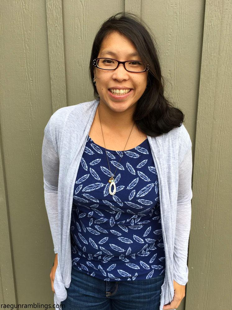 DIY shirt. Free women's sewing pattern and tutorial