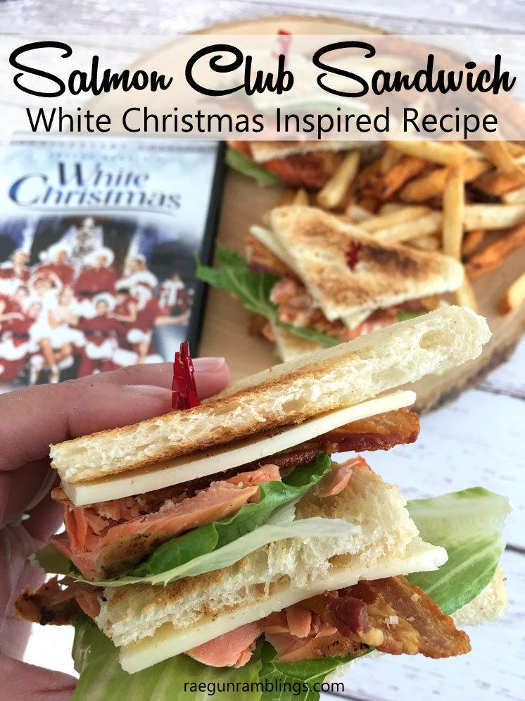 Delicious Salmon Club Salmon Recipe great for celebrating White Christmas