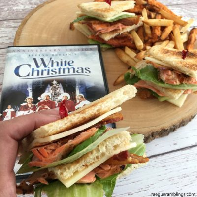 White Christmas Salmon Club Sandwich Recipe