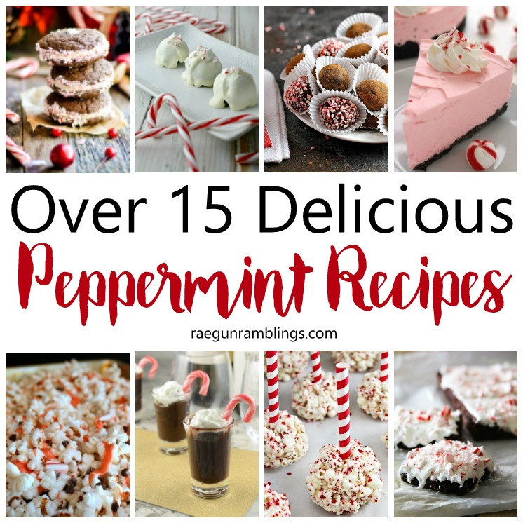 Tons of delicious peppermint recipes