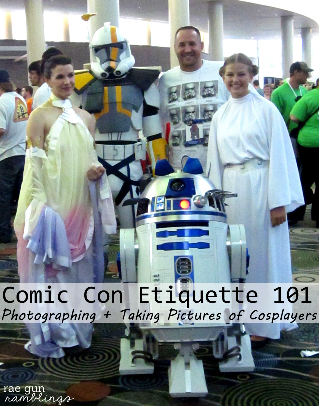cosplay etiquette how to take pictures at comic con