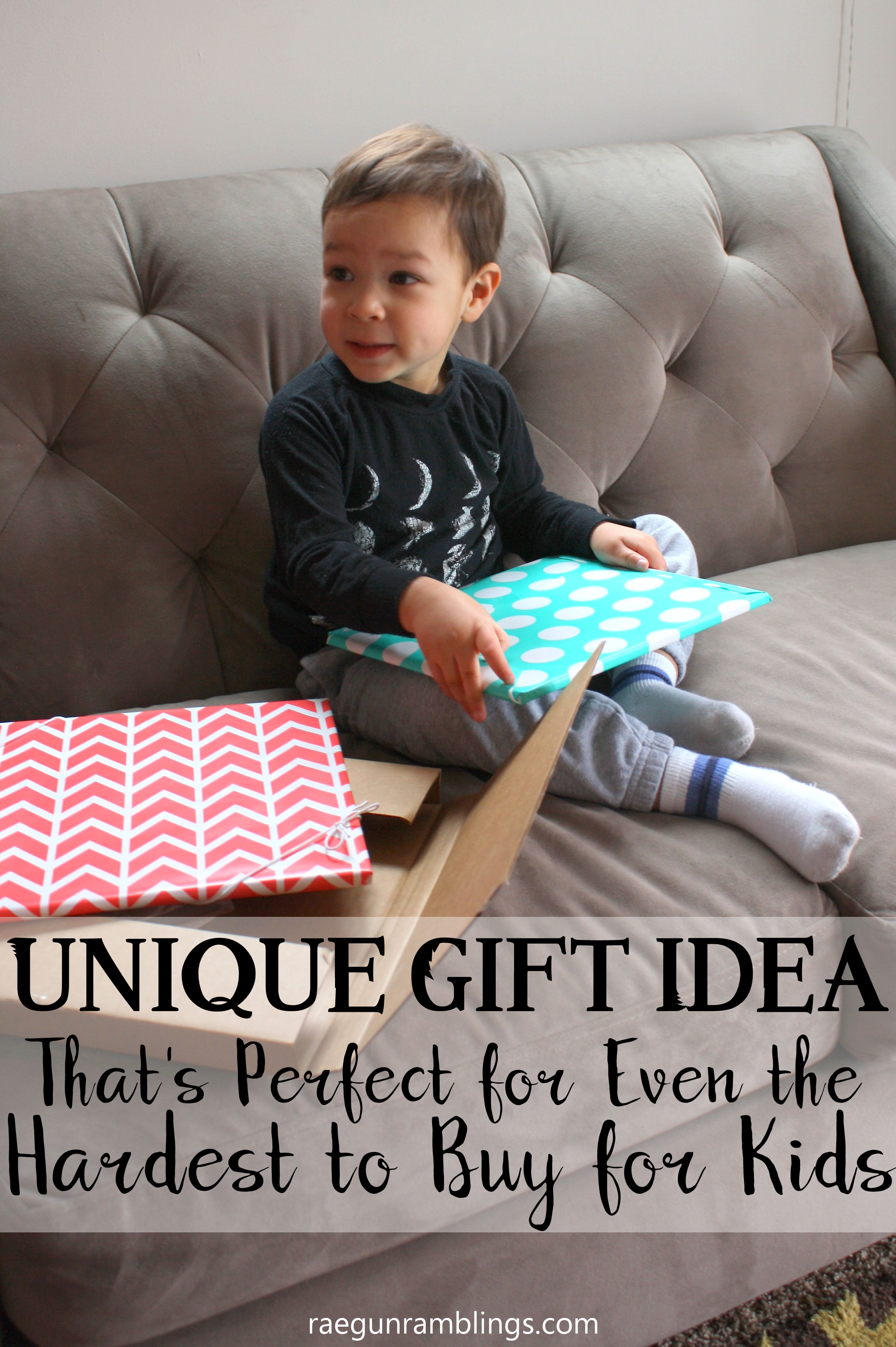 Unique Gift Idea for Toddlers and Older Children. Great birthday present or Christmas gift.