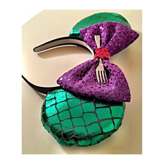 Ariel Little Mermaid Mouse Ears Headband