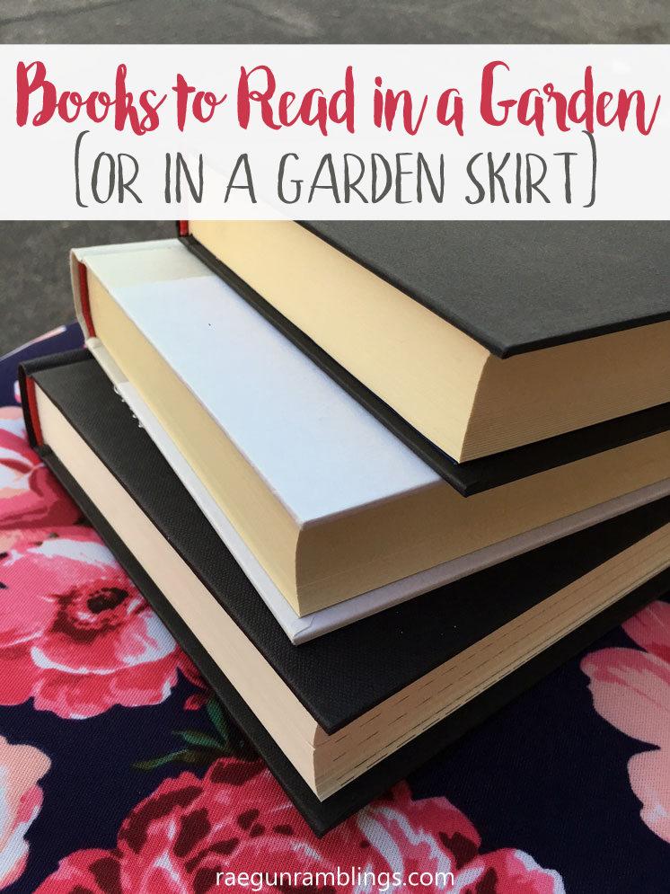 books to read in a garden or in a cute garden skirt