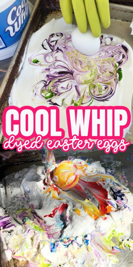cool whip food coloring with eggs