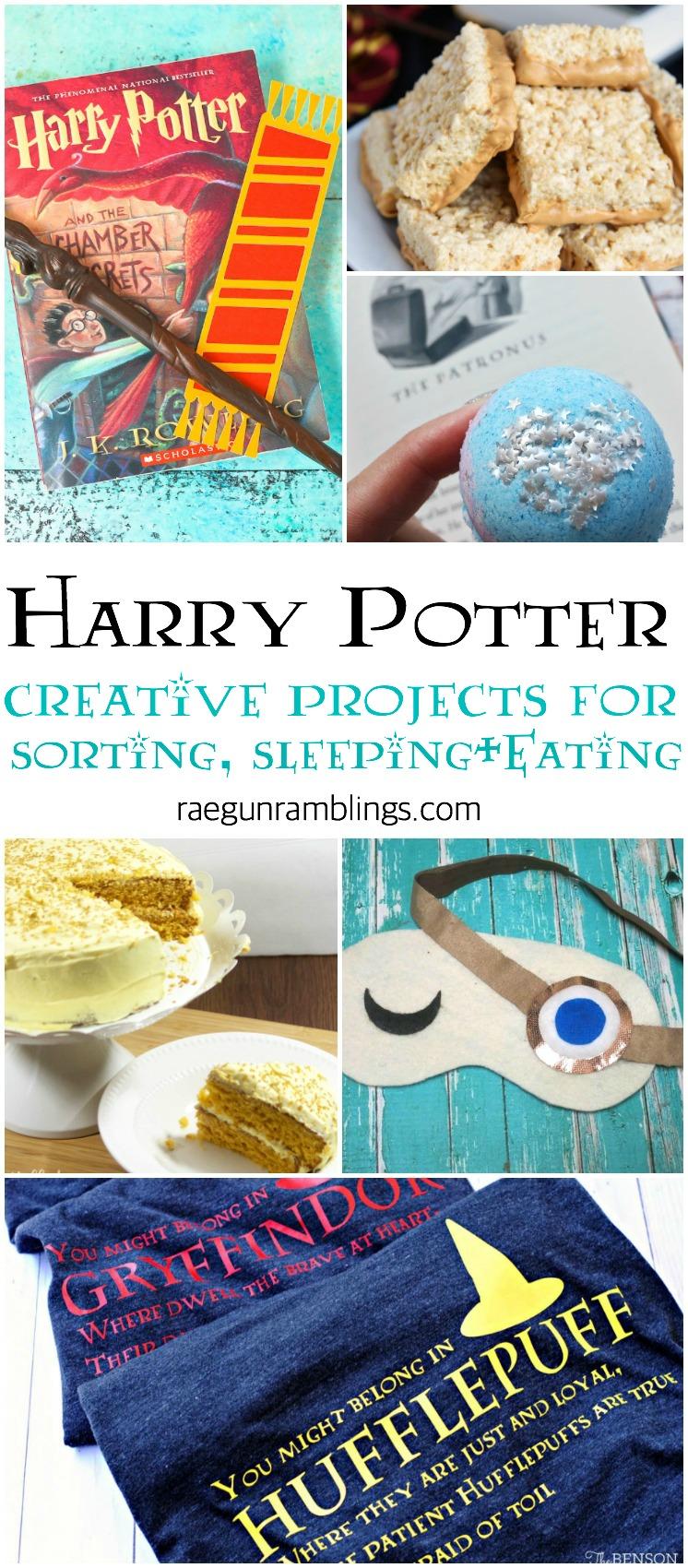 DIY Harry Potter SGV files tutorials and recipes