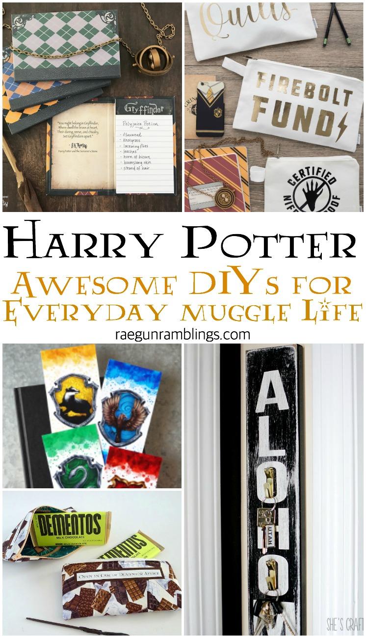 Harry Potter DIY tutorials for muggle life
