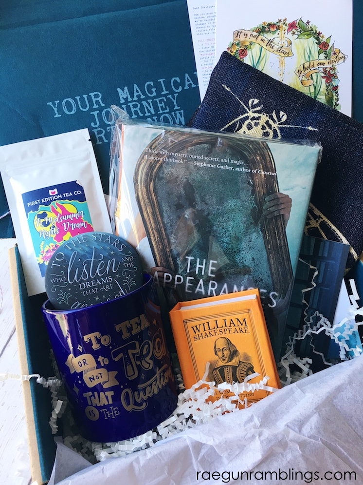 Shelflove Crate bookish subscription box