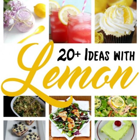 pictures of lemon foods