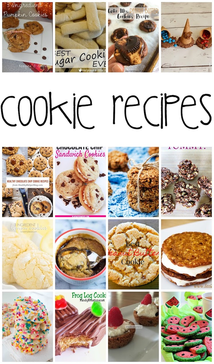Must make Cookies Recipes great for cookie exchanges and year around