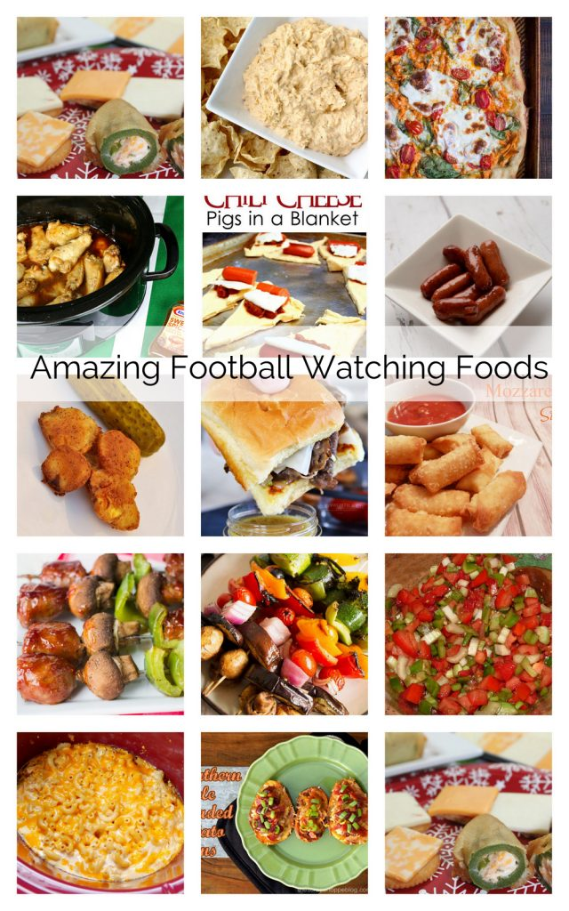 Amazing-Football-Foods-and easy appetizer recipes perfect for tailgating