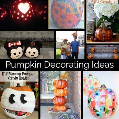 Creative Pumpkin Decorating Ideas and Block Party