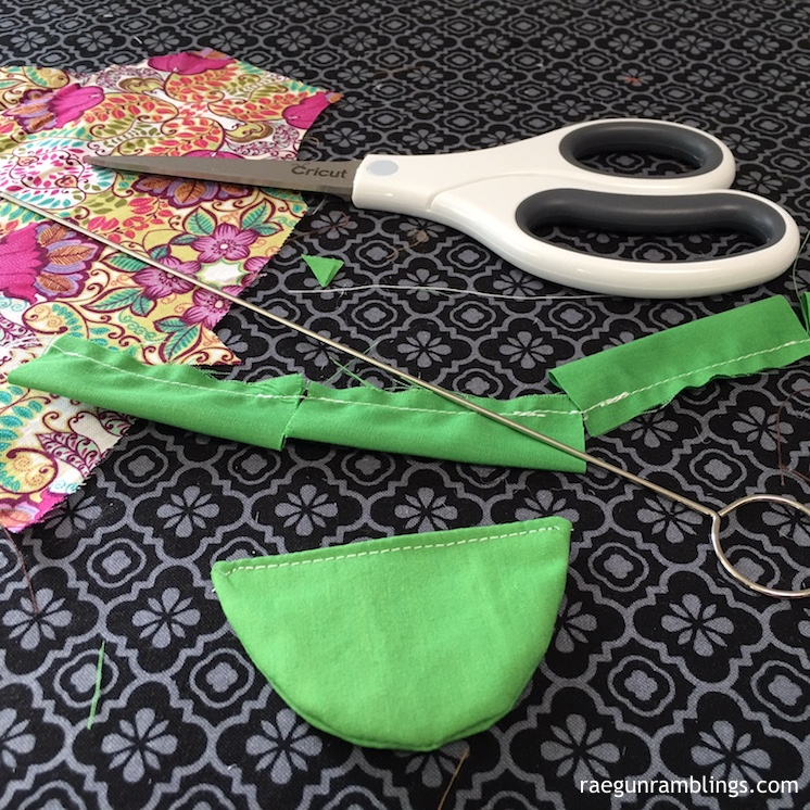 how to make a doll dress sewing project