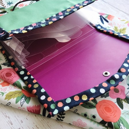 quick and easy DIY organizer perfect for cash system or envelope system dave ramsey fans
