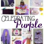 Awesome Purple crafts with free DIY tutorials great for parties
