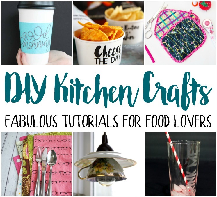 Tons of creative tutorials for foodies, chefs, and cooks. DIY kitchen crafts.