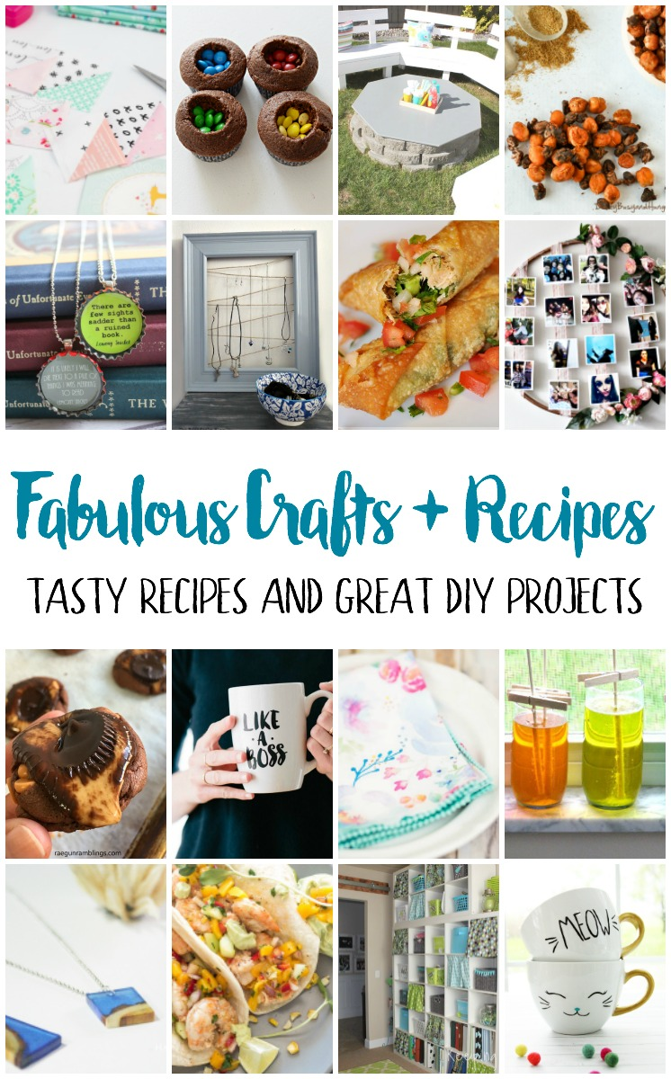 I want to try these recipes and craft tutorials fun ideas