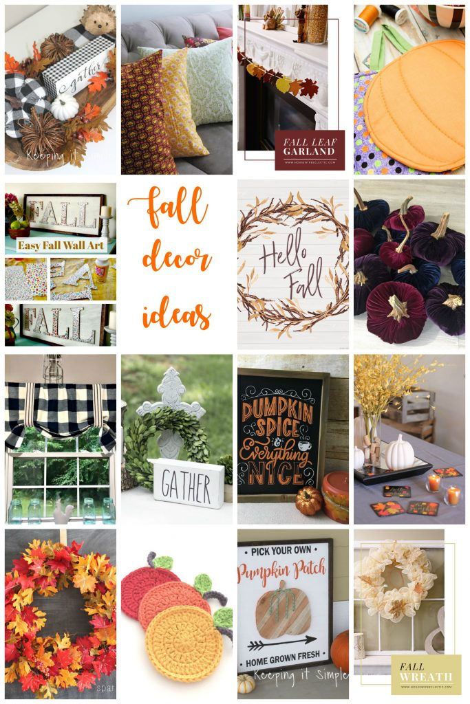 DIY Easy Fall Decor Ideas and Tutorials