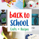 awesome DIY back to school crafts and recipes