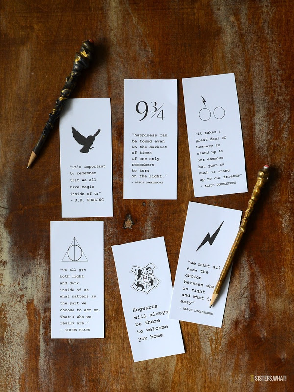 Harry potter free book printable download